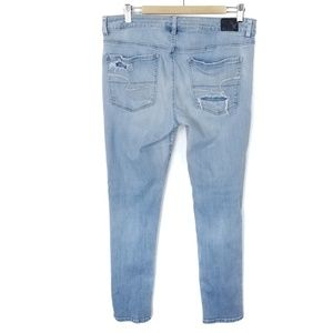 American Eagle Outfitters Jeans - American Eagle Hi Rise Jegging Jeans Destroyed 14